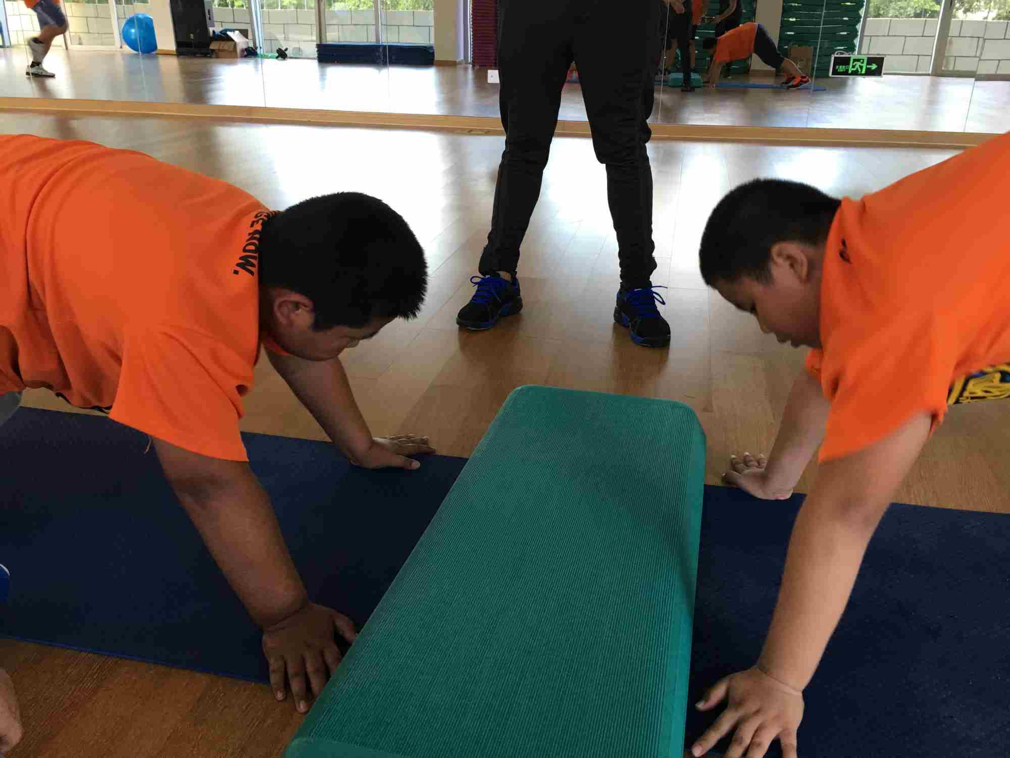 减肥达人训练营三亚万科营地